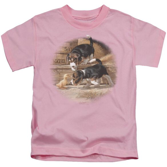 Wildlife Getting Acquainted Short Sleeve Juvenile T-Shirt