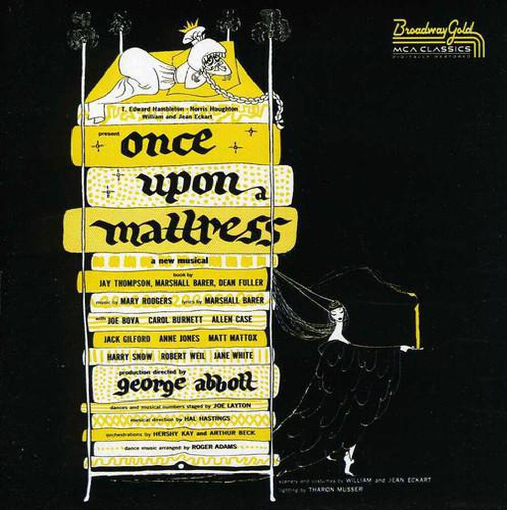 once upon a mattress broadway poster. Once Upon A Mattress / O.B.C. Broadway Poster FYE