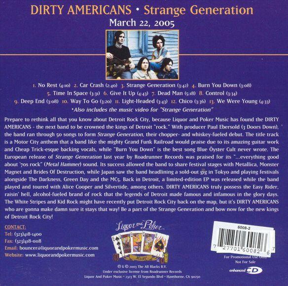 Strange Generation 0305