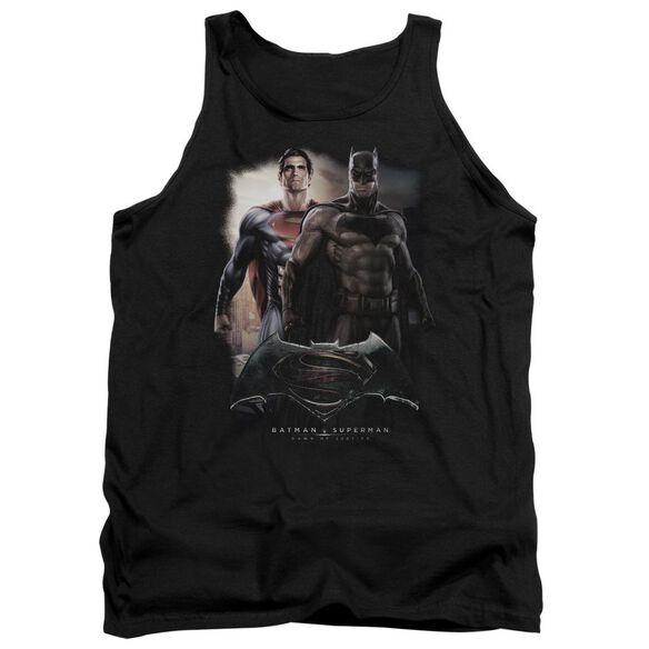 Batman Vs Superman Dawn Adult Tank