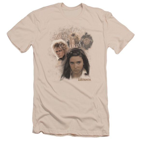 Labyrinth Turn Back Sarah Short Sleeve Adult T-Shirt