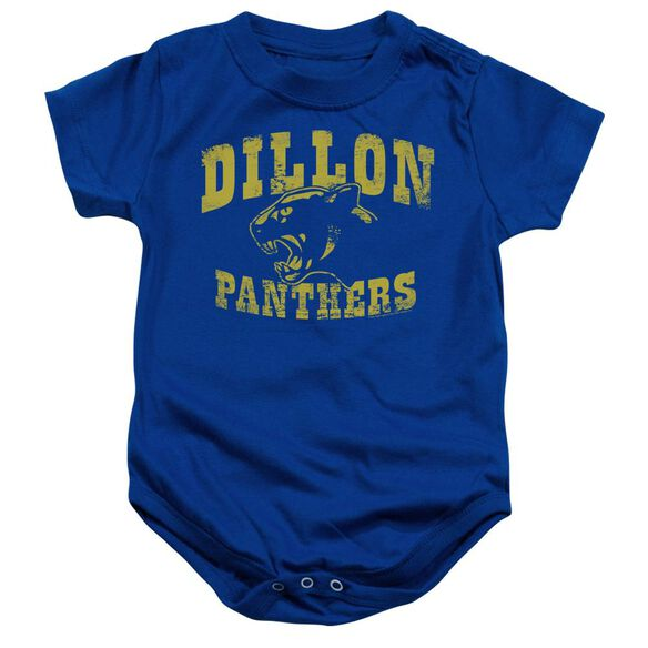 Friday Night Lights Panthers Infant Snapsuit Royal Blue