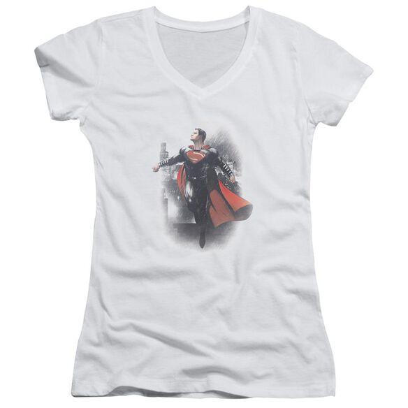 Batman Vs Superman A New Dawn Junior V Neck T-Shirt