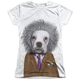 Pets Rock Brain Short Sleeve Junior Poly Crew T-Shirt