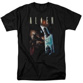 ALIEN AROUND THE CORNER-S/S T-Shirt