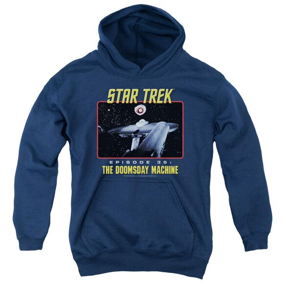 St Original The Doomsday Machine Youth Pull Over Hoodie