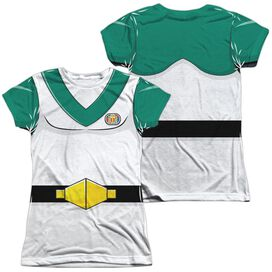 Voltron Pidge Costume (Front Back Print) Short Sleeve Junior Poly Crew T-Shirt