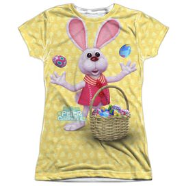 HERE COMES PETER COTTONTAIL BASKET OF EGGS-S/S JUNIOR T-Shirt
