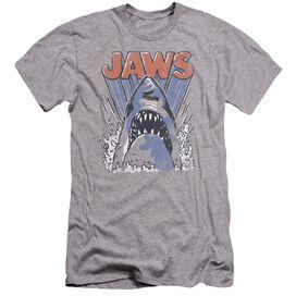 Jaws Comic Splash Premuim Canvas Adult Slim Fit Athletic