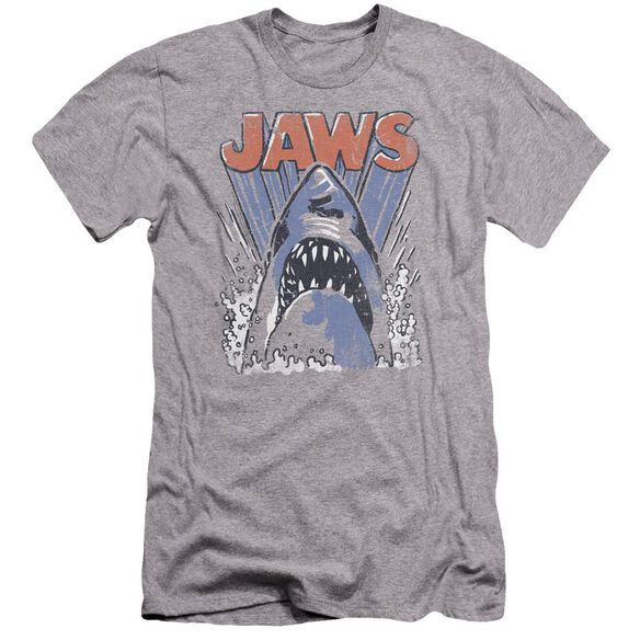 Jaws Comic Splash Premuim Canvas Adult Slim Fit Athletic
