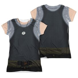 Bsg (New) Tank Top (Front Back Print) Short Sleeve Junior Poly Crew T-Shirt