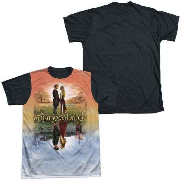Princess Bride Poster Sub Short Sleeve Adult Front Black Back T-Shirt