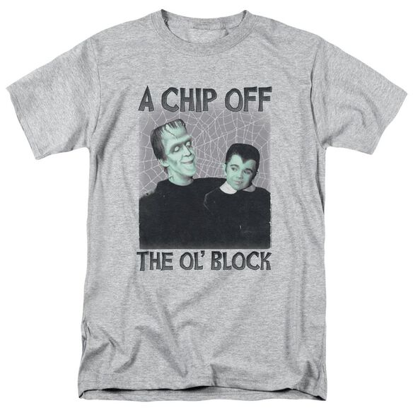 The Munsters Chip Short Sleeve Adult Athletic T-Shirt