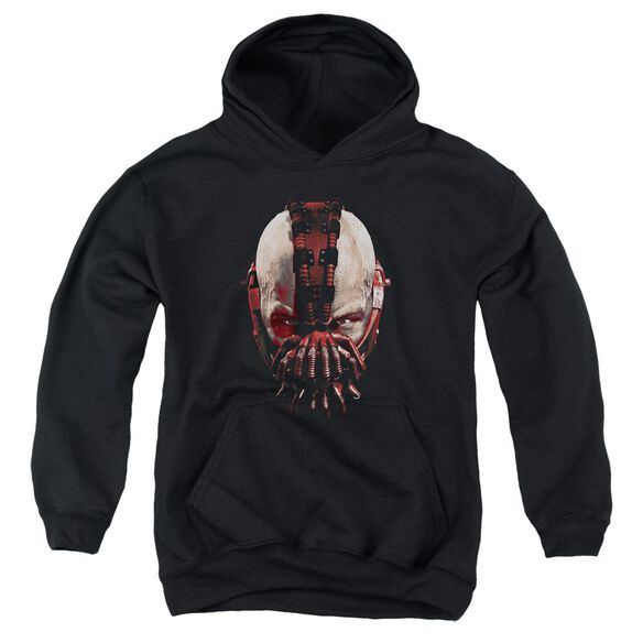 Dark Knight Rises Bane Mask Youth Pull Over Hoodie