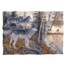 Wild Wings Silent Travelers 2 (Front Back Print) Pillow Case