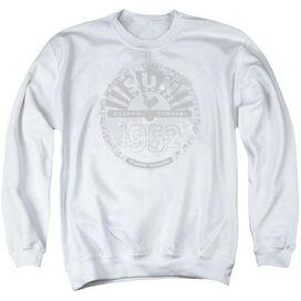 Sun Records Crusty Logo Adult Crewneck Sweatshirt
