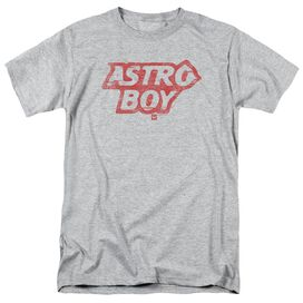 Astro Boy Logo Short Sleeve Adult Athletic Heather T-Shirt