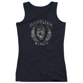 Hardluck Kings Camo Logo Juniors Tank Top