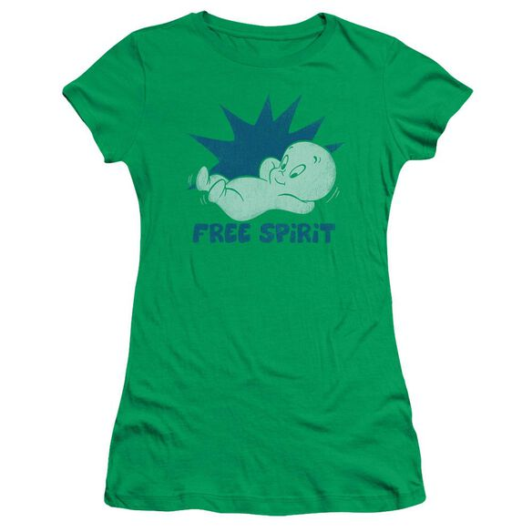 Casper Free Spirit Short Sleeve Junior Sheer Kelly T-Shirt