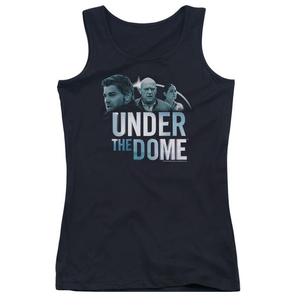 Under The Dome Character Art Juniors Tank Top