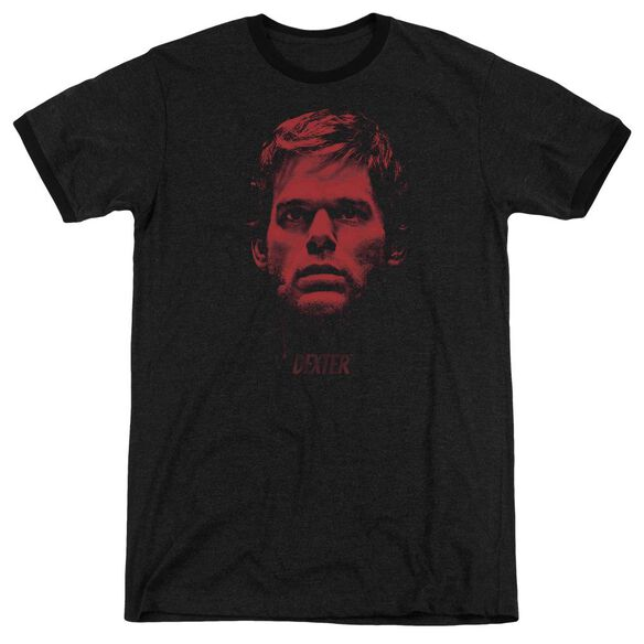 Dexter Bloody Face Adult Heather Ringer