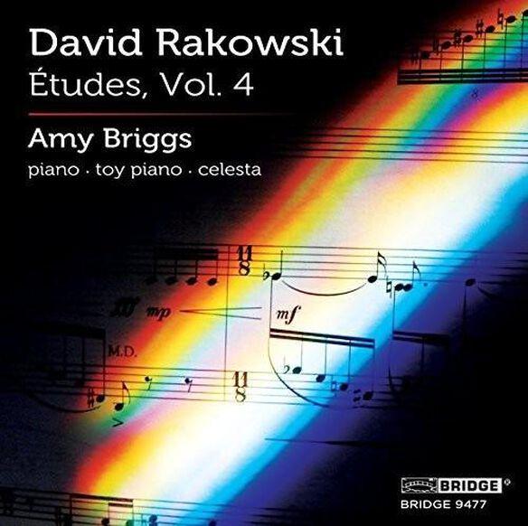 David Rakowski: Etudes Vol 4