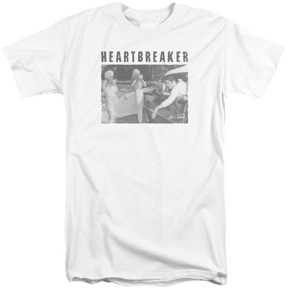 Elvis Heartbreaker Short Sleeve Adult Tall T-Shirt