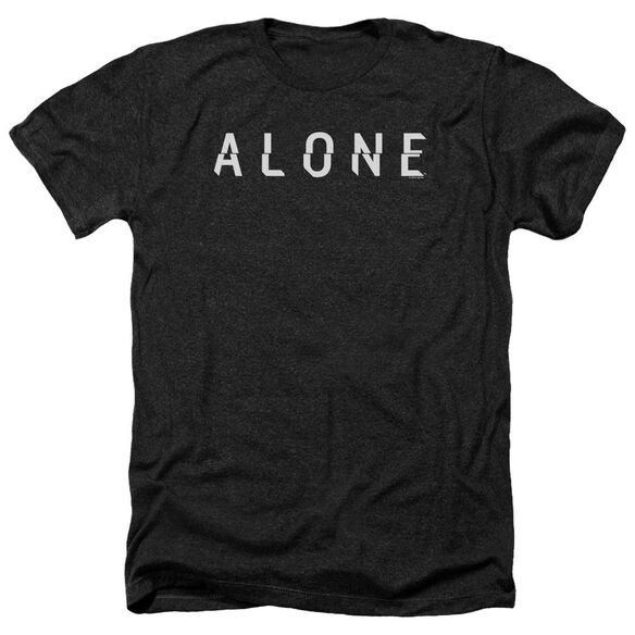 Alone Alone Logo Adult Heather