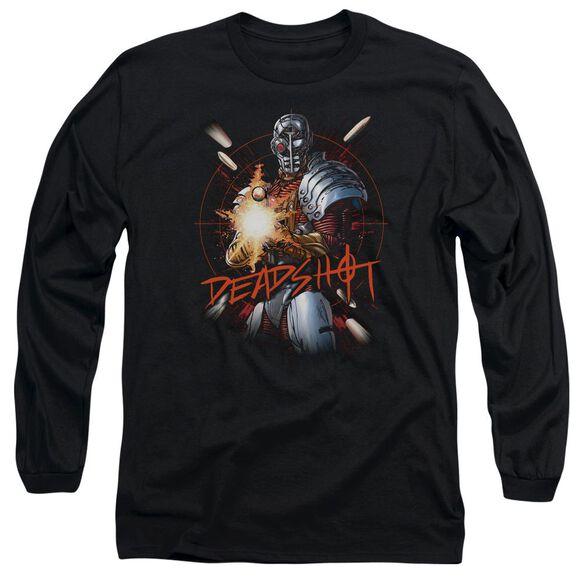Jla Deadshot Long Sleeve Adult T-Shirt