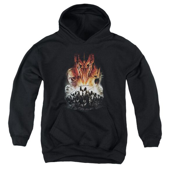 Lor Evil Rising Youth Pull Over Hoodie