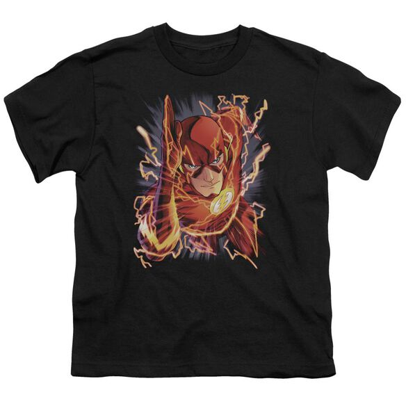Jla Flash #1 Short Sleeve Youth T-Shirt