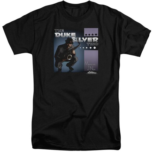 Parks And Rec Album Cover Short Sleeve Adult Tall T-Shirt