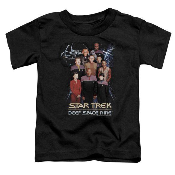 STAR TREK DS9 CREW - S/S TODDLER TEE - BLACK - T-Shirt