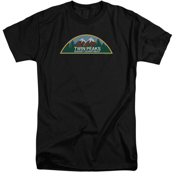 Twin Peaks Sheriff Department Short Sleeve Adult Tall T-Shirt