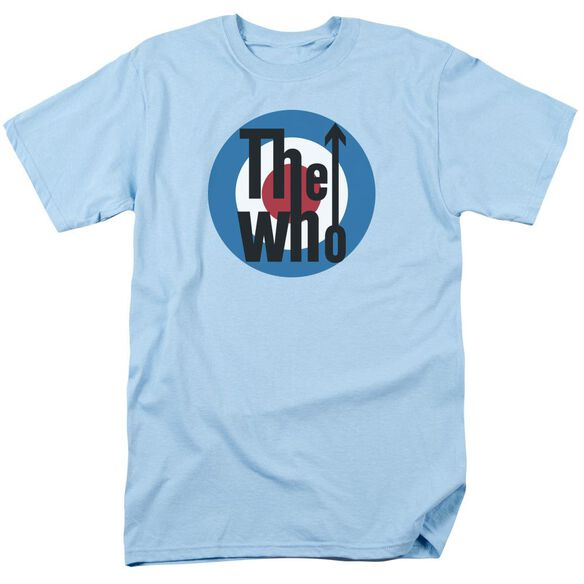 The Who Logo Short Sleeve Adult Light T-Shirt