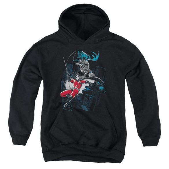 Batman And White Youth Pull Over Hoodie