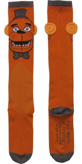 Five Nights at Freddy's Fazbear Knee High Socks