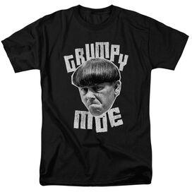 Three Stooges Grumpy Moe Short Sleeve Adult T-Shirt