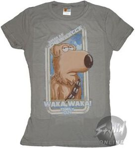 Family Guy Brian Chewbacca Baby Tee