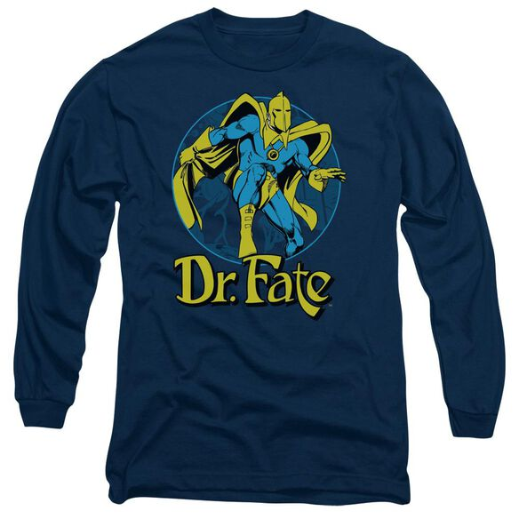 Dc Dr Fate Ankh Long Sleeve Adult T-Shirt