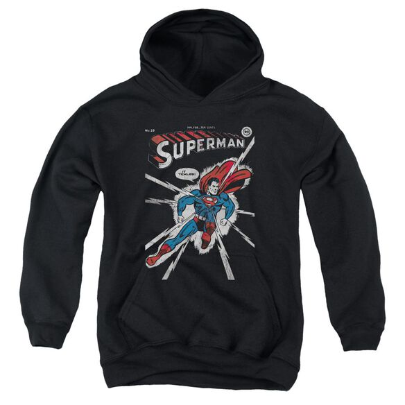 Dc Cover Me-youth Pull-over Hoodie - Black