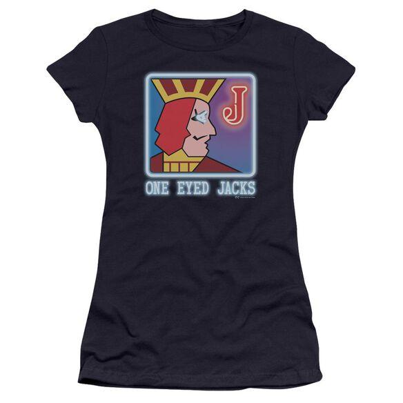 Twin Peaks One Eyed Jacks Hbo Short Sleeve Junior Sheer T-Shirt