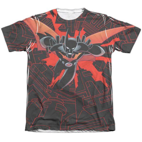 Batman Beyond Drop Down Adult Poly Cotton Short Sleeve Tee T-Shirt