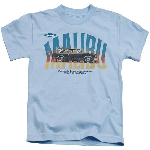 Chevrolet Thumbs Up Short Sleeve Juvenile Light Blue T-Shirt
