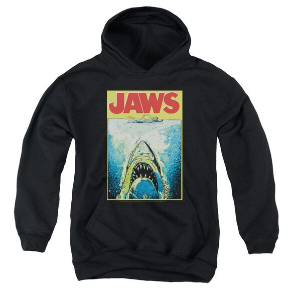 Jaws Bright Jaws Youth Pull Over Hoodie