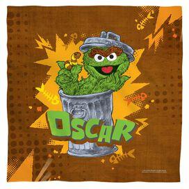 Sesame Street Oscar Bandana