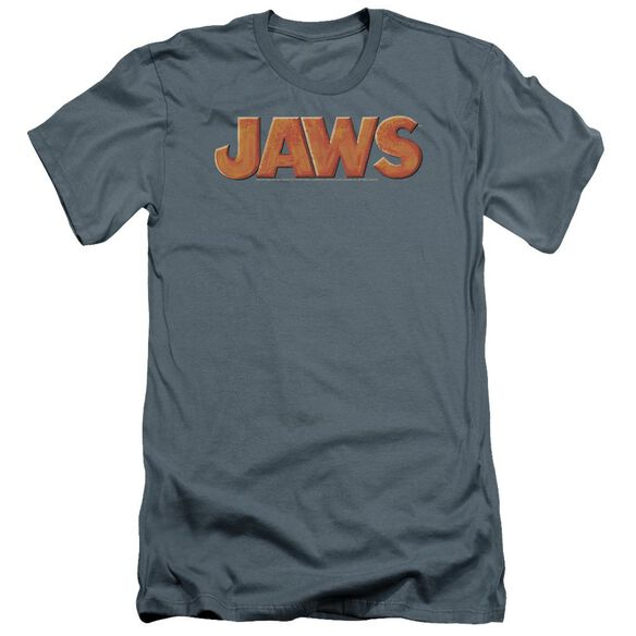 Jaws Logo Premuim Canvas Adult Slim Fit