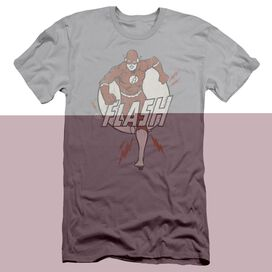 DC FLASH LIGHTNING FAST - S/S ADULT 30/1 - SILVER T-Shirt