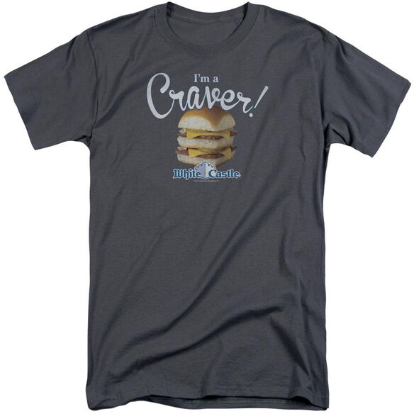 White Castle Craver Short Sleeve Adult Tall T-Shirt