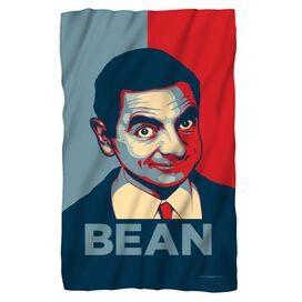 Mr Bean Poster Fleece Blanket